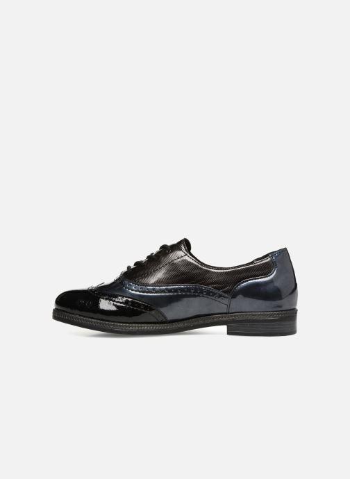 Chaussures à lacets Remonte Mae D2621 Bleu vue face