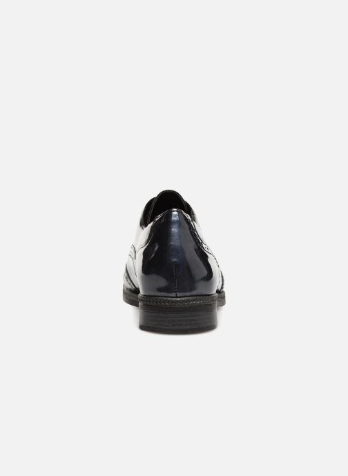 Chaussures à lacets Remonte Mae D2621 Bleu vue droite