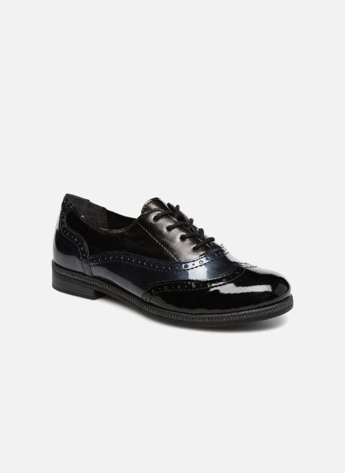 Chaussures à lacets Remonte Mae D2621 Bleu vue détail/paire