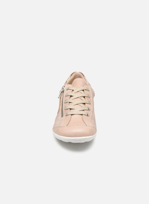 Baskets Remonte Magalie Rose vue portées chaussures