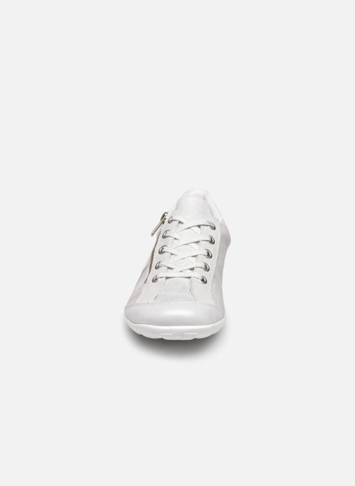 Baskets Remonte Magalie Blanc vue portées chaussures