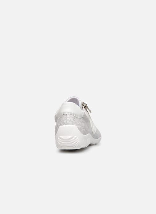 Baskets Remonte Magalie Blanc vue droite
