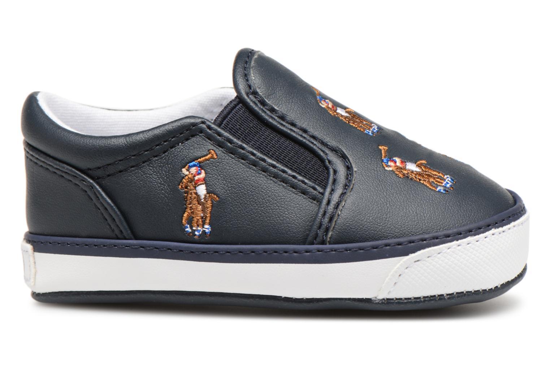 Chaussons Polo Ralph Lauren Bal Harbour Repeat Multi Pony Bleu vue derrière