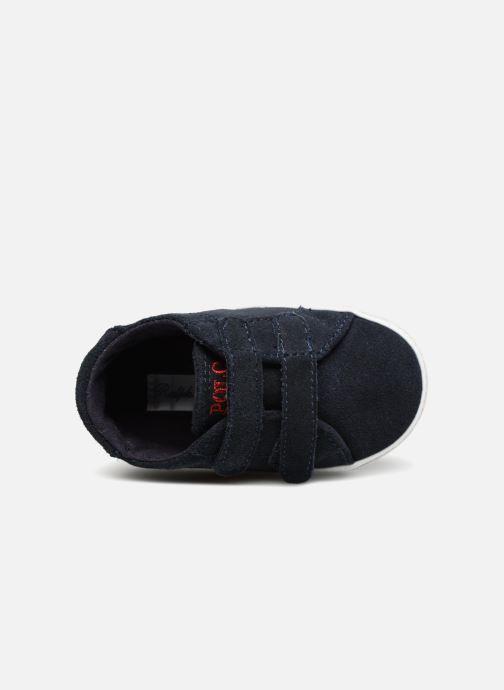 Pantoffels Polo Ralph Lauren Easten EZ Layette Blauw links
