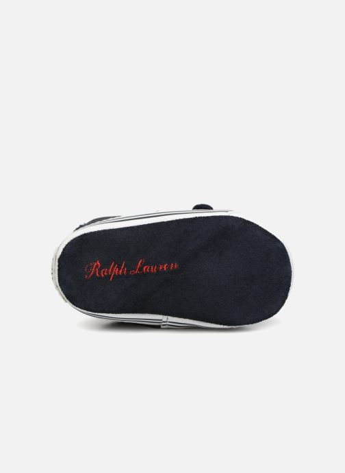 Chaussons Polo Ralph Lauren Easten EZ Layette Bleu vue haut