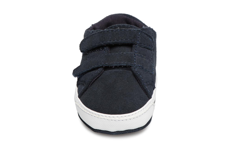 Chaussons Polo Ralph Lauren Easten EZ Layette Bleu vue portées chaussures