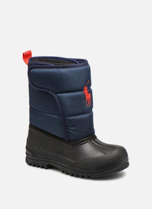 Chaussures de sport Polo Ralph Lauren Hamilten II EZ Bleu vue détail/paire