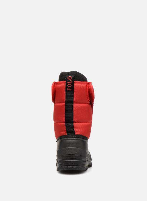 Chaussures de sport Polo Ralph Lauren Hamilten II EZ Rouge vue droite