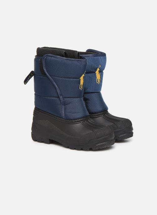 Chaussures de sport Polo Ralph Lauren Hamilten II EZ Bleu vue 3/4