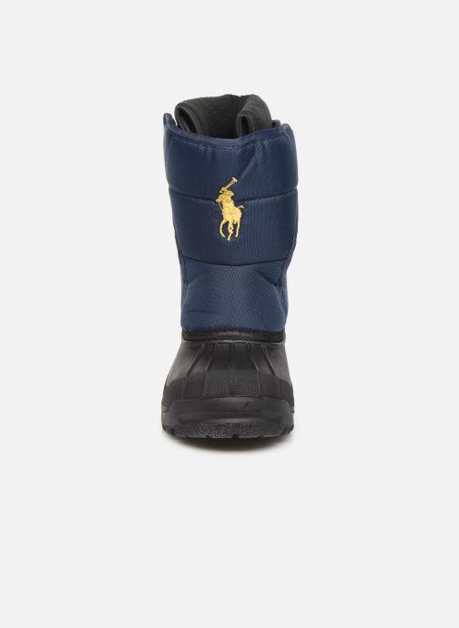 Chaussures de sport Polo Ralph Lauren Hamilten II EZ Bleu vue portées chaussures