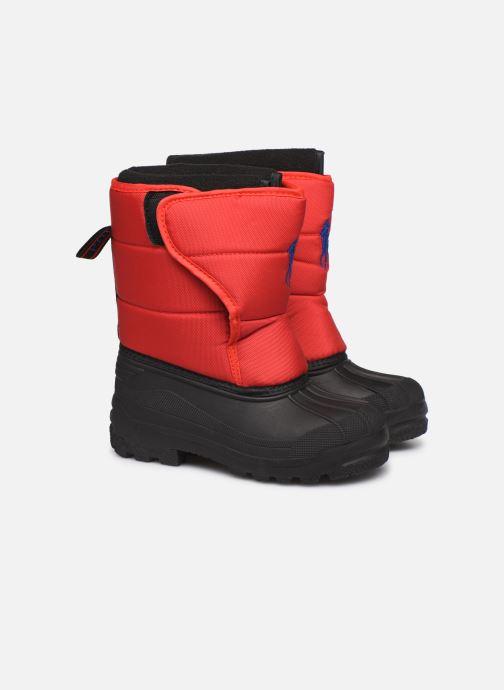 Chaussures de sport Polo Ralph Lauren Hamilten II EZ Rouge vue 3/4
