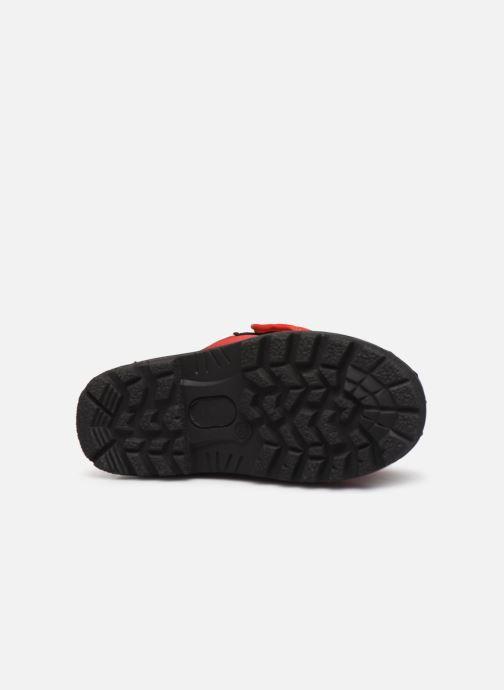Chaussures de sport Polo Ralph Lauren Hamilten II EZ Rouge vue haut
