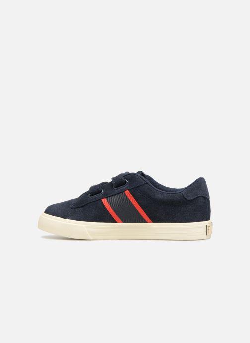 Sneakers Polo Ralph Lauren Geoff EZ Blauw voorkant