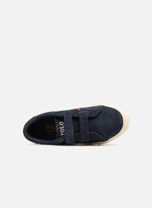 Sneakers Polo Ralph Lauren Geoff EZ Blauw links