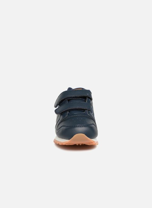 Baskets Polo Ralph Lauren Oryion EZ Bleu vue portées chaussures
