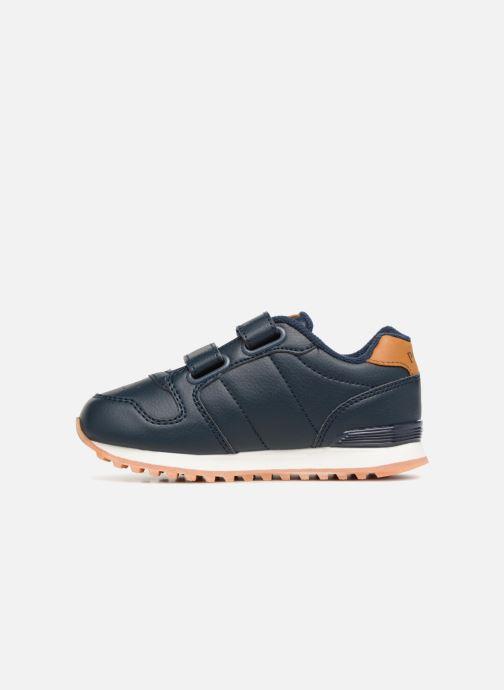 Sneakers Polo Ralph Lauren Oryion EZ Blauw voorkant