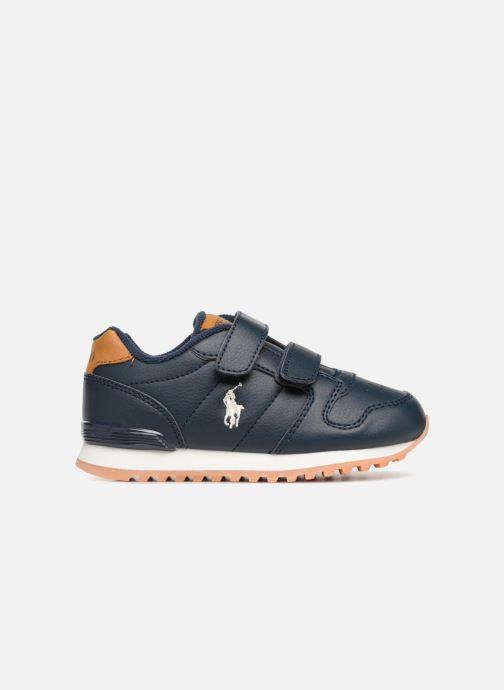 Sneakers Polo Ralph Lauren Oryion EZ Blauw achterkant