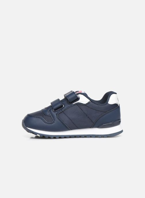Baskets Polo Ralph Lauren Oryion EZ Bleu vue face