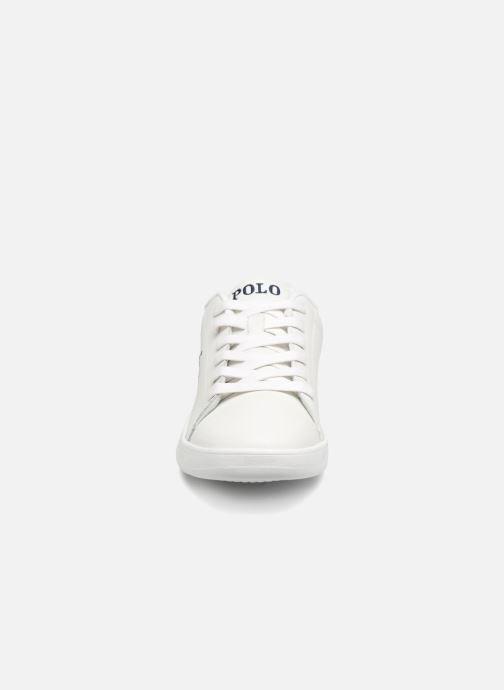 Baskets Polo Ralph Lauren Quilton Blanc vue portées chaussures