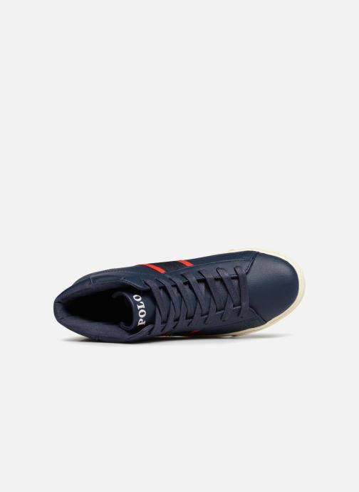 Sneakers Polo Ralph Lauren Geoff Mid Blauw links