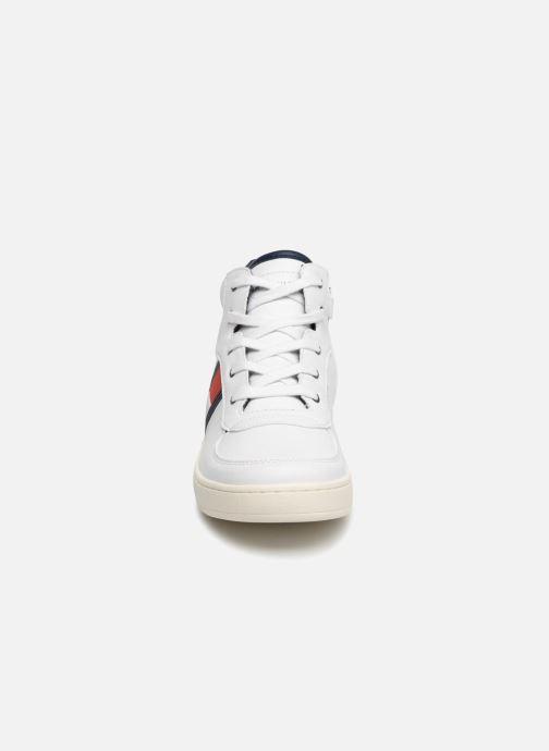 Sneaker Tommy Hilfiger Tommy 30095 weiß schuhe getragen