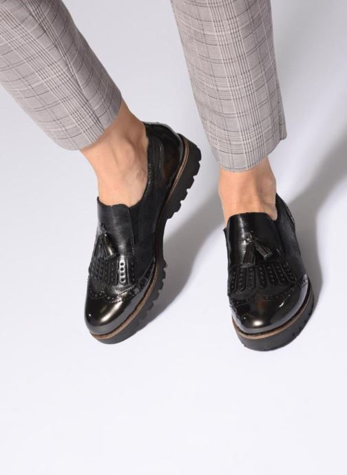 Loafers Remonte Mabelle D0114 Grå bild från under