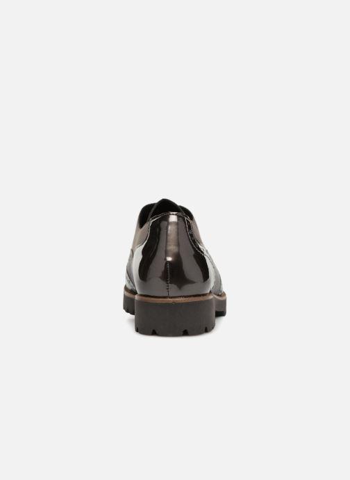 Scarpe con lacci Remonte Maceo D0117 Grigio immagine destra