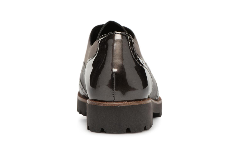 Chaussures à lacets Remonte Maceo D0117 Gris vue droite