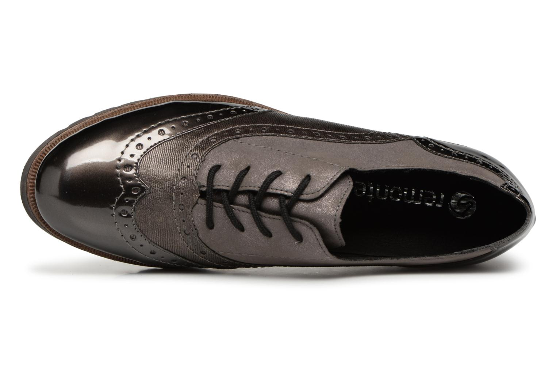 Chaussures à lacets Remonte Maceo D0117 Gris vue gauche