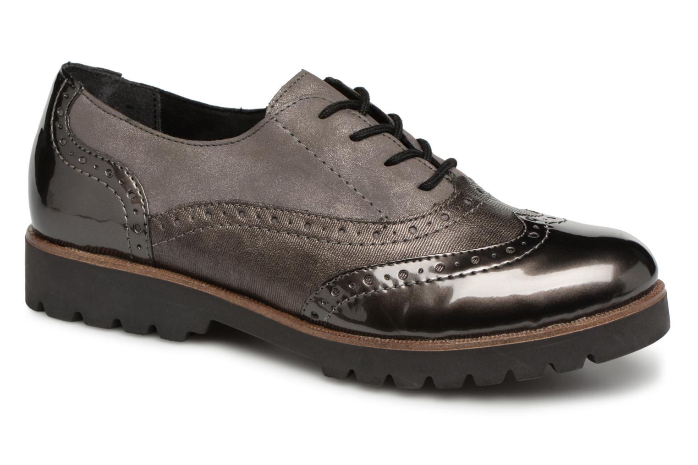 Chaussures à lacets Remonte Maceo D0117 Gris vue détail/paire