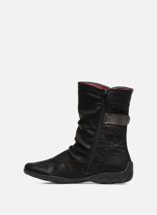 Boots en enkellaarsjes Remonte Maewen R3495 Zwart voorkant