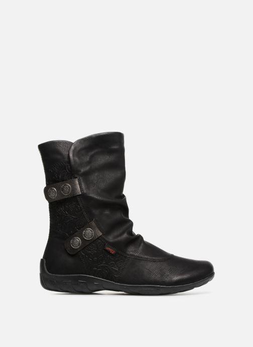 Boots en enkellaarsjes Remonte Maewen R3495 Zwart achterkant