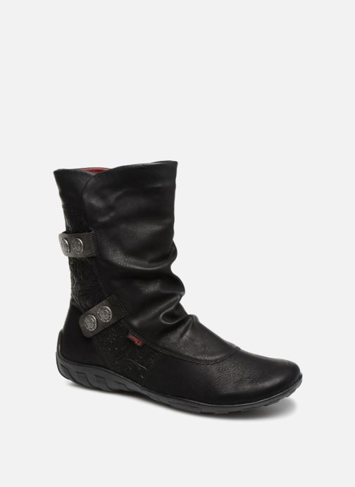 Boots en enkellaarsjes Remonte Maewen R3495 Zwart detail