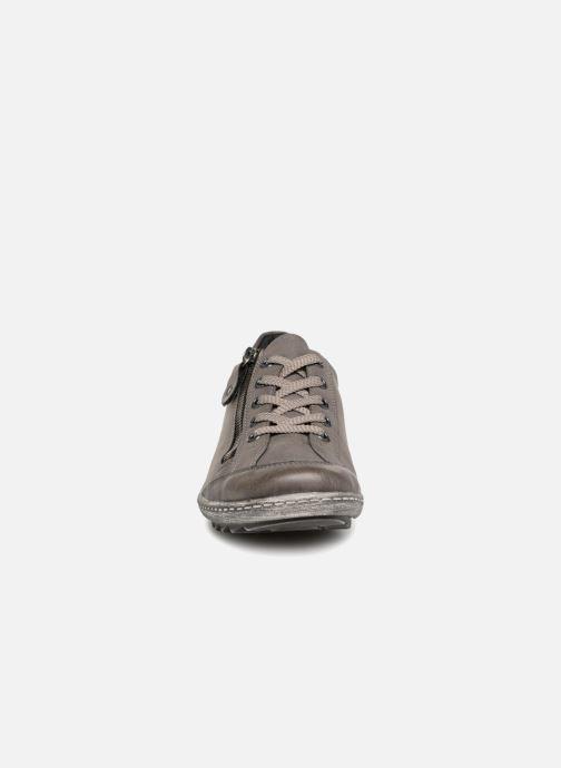 Sneaker Remonte Many R1402 grau schuhe getragen