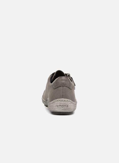 Sneaker Remonte Many R1402 grau ansicht von rechts