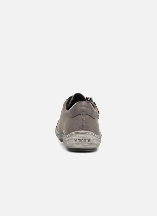 Trainers Remonte Many R1402 Grey view from the right