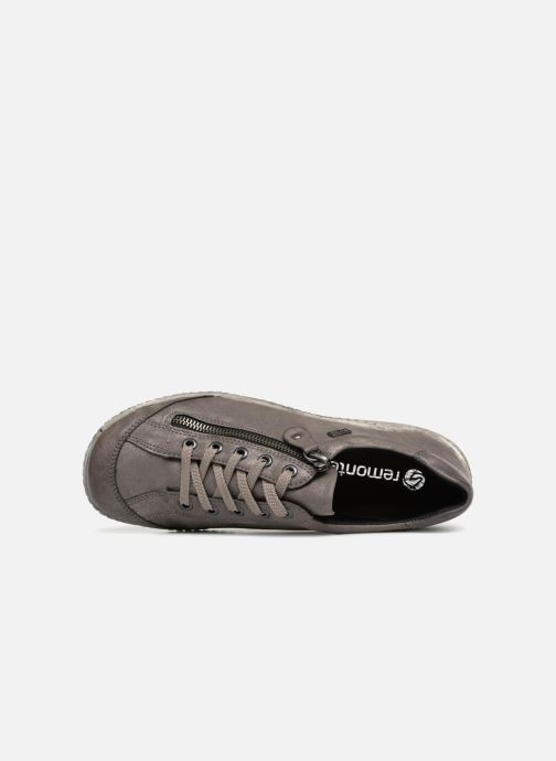 Sneaker Remonte Many R1402 grau ansicht von links