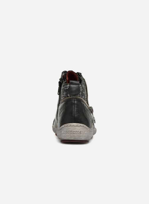 Baskets Remonte Mara R1494 Noir vue droite