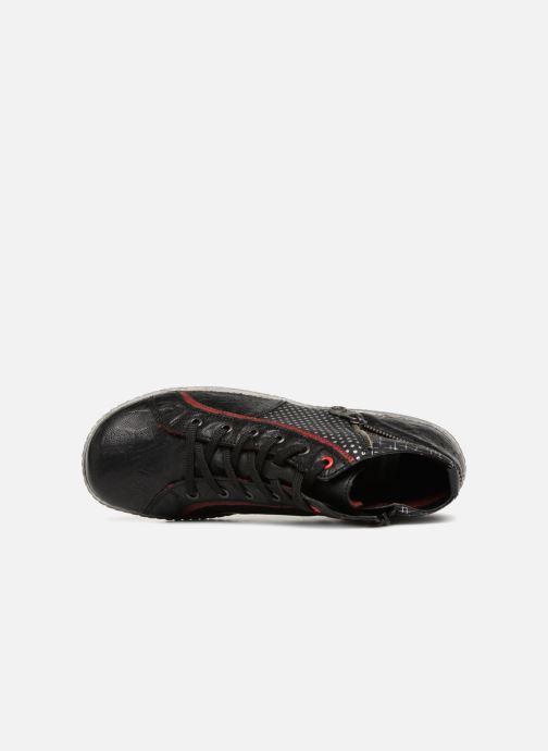 Baskets Remonte Mara R1494 Noir vue gauche