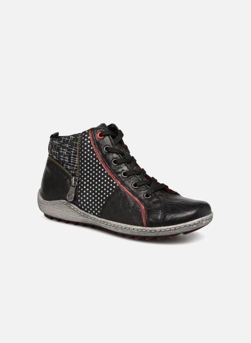 Baskets Remonte Mara R1494 Noir vue détail/paire