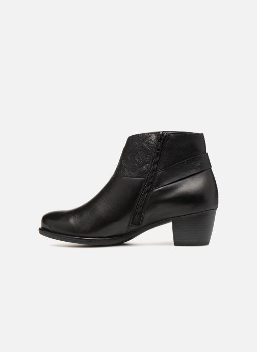 Boots en enkellaarsjes Remonte Margueritte R2677 Zwart voorkant