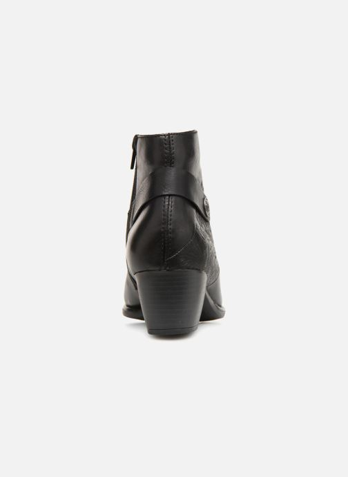 Bottines et boots Remonte Margueritte R2677 Noir vue droite