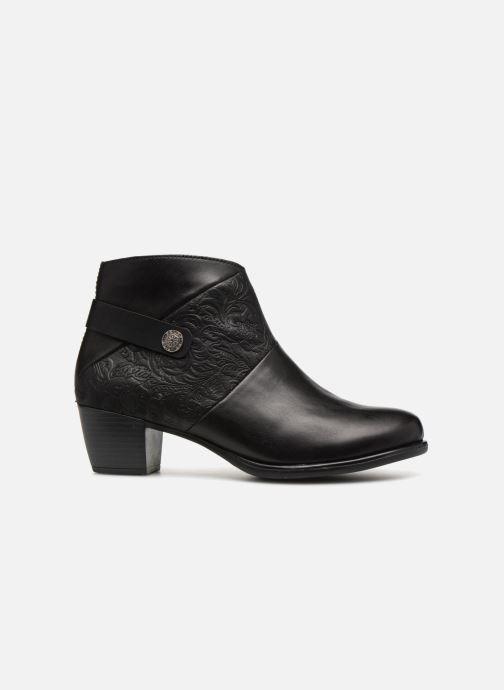 Boots en enkellaarsjes Remonte Margueritte R2677 Zwart achterkant