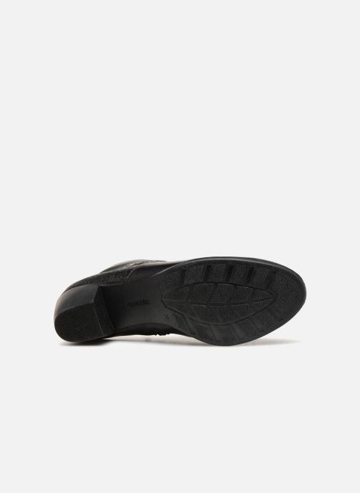 Bottines et boots Remonte Margueritte R2677 Noir vue haut