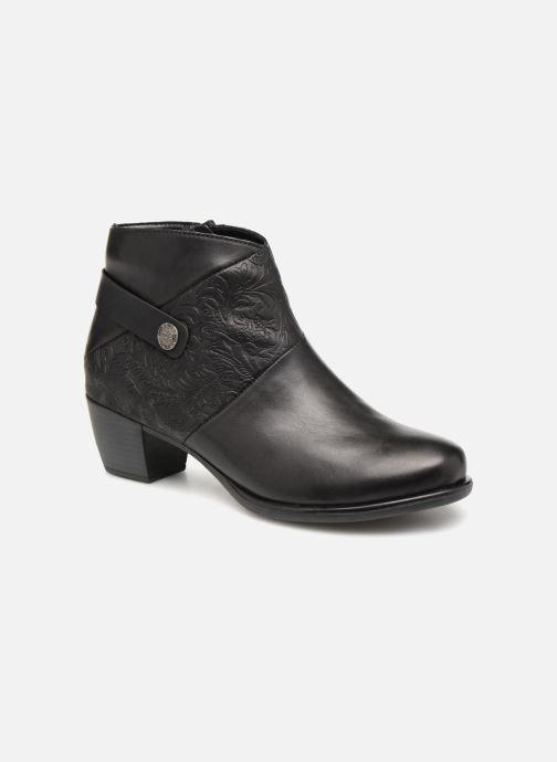 Boots en enkellaarsjes Remonte Margueritte R2677 Zwart detail