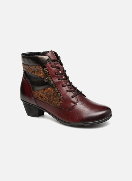 Bottines et boots Remonte Marlène R7570 Bordeaux vue détail/paire