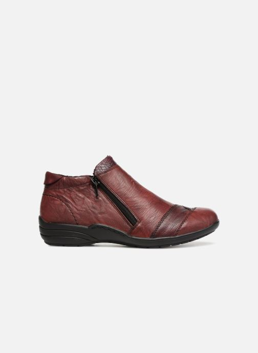 Ankle boots Remonte Mathéa R7671 Burgundy back view