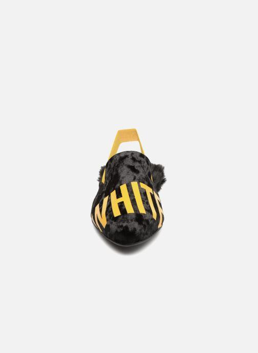 Mules et sabots TheWhiteBrand Tia Noir vue portées chaussures