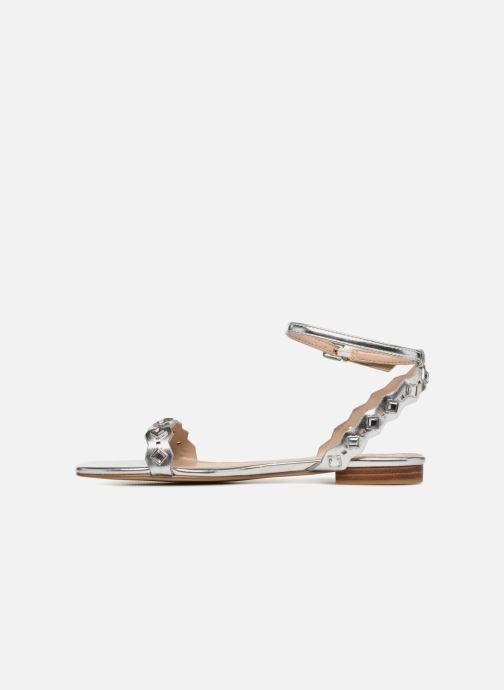 Sandales et nu-pieds Aldo AMELIE Argent vue face