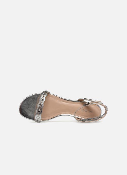 Sandales et nu-pieds Aldo AMELIE Argent vue gauche